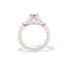 1.17ct Asscher Cut Diamond Tacori Solitaire, GIA G, VS2 3