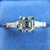 1.17ct Asscher Cut Diamond Tacori Solitaire, GIA G, VS2 6