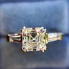 1.17ct Asscher Cut Diamond Tacori Solitaire, GIA G, VS2 11
