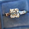 1.17ct Asscher Cut Diamond Tacori Solitaire, GIA G, VS2 20