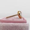 1.20ct Pear Shape Rose Cut Diamond Bezel Ring 5
