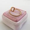 1.20ct Pear Shape Rose Cut Diamond Bezel Ring 4