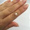 1.20ct Pear Shape Rose Cut Diamond Bezel Ring 23