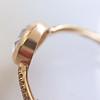 1.20ct Pear Shape Rose Cut Diamond Bezel Ring 20