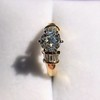 1.26ctw Old European Cut and Baguette Ring 13