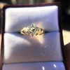 1.26ctw Old European Cut and Baguette Ring 32