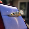 1.26ctw Old European Cut and Baguette Ring 19
