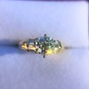 1.26ctw Old European Cut and Baguette Ring 33