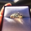 1.26ctw Old European Cut and Baguette Ring 68