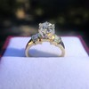 1.26ctw Old European Cut and Baguette Ring 66