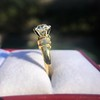 1.26ctw Old European Cut and Baguette Ring 48