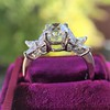 1.47ctw August Vintage Diamond Fancy Ring 7