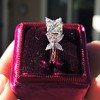 1.47ctw August Vintage Diamond Fancy Ring 9