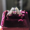 1.47ctw August Vintage Diamond Fancy Ring 12