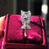 1.47ctw August Vintage Diamond Fancy Ring 8