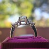 1.47ctw August Vintage Diamond Fancy Ring 15