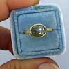 1.56ct Rustic Rose Cut Diamond Bezel Ring, by Single Stone 18