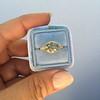 1.56ct Rustic Rose Cut Diamond Bezel Ring, by Single Stone 15
