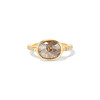 1.56ct Rustic Rose Cut Diamond Bezel Ring, by Single Stone