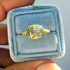 1.56ct Rustic Rose Cut Diamond Bezel Ring, by Single Stone 16