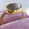 1.56ct Rustic Rose Cut Diamond Bezel Ring, by Single Stone 8