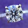 1.60ct Cushion Cut Solitaire, A Blue Nile Signature Cut GIA I SI1 9