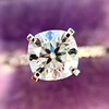 1.60ct Cushion Cut Solitaire, A Blue Nile Signature Cut GIA I SI1 19