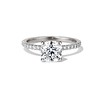 1.60ct Cushion Cut Solitaire, A Blue Nile Signature Cut GIA I SI1 0