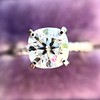 1.60ct Cushion Cut Solitaire, A Blue Nile Signature Cut GIA I SI1 24