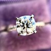 1.60ct Cushion Cut Solitaire, A Blue Nile Signature Cut GIA I SI1 25