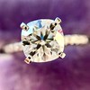 1.60ct Cushion Cut Solitaire, A Blue Nile Signature Cut GIA I SI1 15