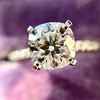 1.60ct Cushion Cut Solitaire, A Blue Nile Signature Cut GIA I SI1 16