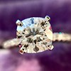 1.60ct Cushion Cut Solitaire, A Blue Nile Signature Cut GIA I SI1 17