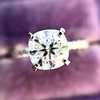 1.60ct Cushion Cut Solitaire, A Blue Nile Signature Cut GIA I SI1 28