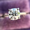 1.60ct Cushion Cut Solitaire, A Blue Nile Signature Cut GIA I SI1 27