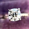 1.60ct Cushion Cut Solitaire, A Blue Nile Signature Cut GIA I SI1 21