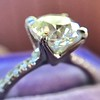 1.60ct Cushion Cut Solitaire, A Blue Nile Signature Cut GIA I SI1 7
