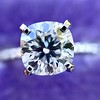 1.60ct Cushion Cut Solitaire, A Blue Nile Signature Cut GIA I SI1 14