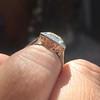 1.63ct Fancy Intense Yellow Radiant Diamond Halo Ring 8