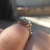 1.63ct Fancy Intense Yellow Radiant Diamond Halo Ring 30