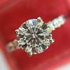 1.70ct Round Brilliant Diamond Soliatire, AGS000 H VS2 10
