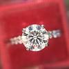 1.70ct Round Brilliant Diamond Soliatire, AGS000 H VS2