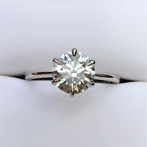 1.84ct Round Brilliant Hearts and Arrows AGS 000 I VS2 Solitaire