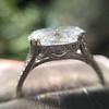 2.01ct Oval Shape Diamond, GIA E SI2 Single Stone Setting 1