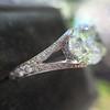 2.01ct Oval Shape Diamond, GIA E SI2 Single Stone Setting 4