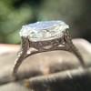 2.01ct Oval Shape Diamond, GIA E SI2 Single Stone Setting 13