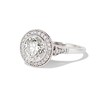 2.07ct Round Brilliant Diamond Halo Ring EGL K I1 1