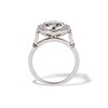 2.07ct Round Brilliant Diamond Halo Ring EGL K I1 3
