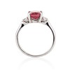 2.17ct Diamond & Spinel 3-Stone Ring 4