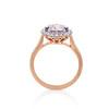 2.40ct Light Purple Sapphire Halo Ring 3